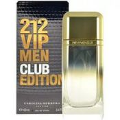 Описание аромата Carolina Herrera 212 VIP Men Club Edition